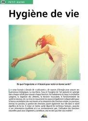 Dernières parutions dans Petit guide, Hygiene de vie