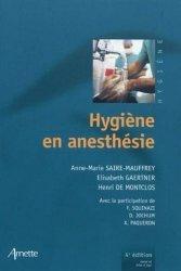 Souvent acheté avec Réanimation pédiatrique, le Hygiène en anesthésie