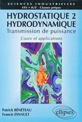 Souvent acheté avec Tuyauterie industrielle, le Hydrostatique Tome 2 Hydrodynamique
