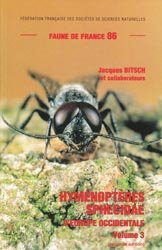 Souvent acheté avec Hyménoptères sphecidae d'Europe occidentale Volume 1, le Hyménoptères sphecidae d'Europe occidentale Volume 3
