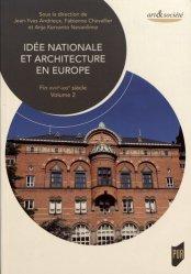 Dernières parutions dans Art & Société, Idée nationale et architecture en Europe
