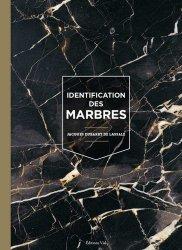 Dernières parutions sur Design - Mobilier, Identification des marbres