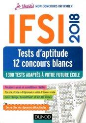 Souvent acheté avec Les mathématiques pour les tests d'aptitude numerique, le IFSI 2018 1200 Tests d'aptitude comme au concours - 10 Concours blancs adaptés à votre future école