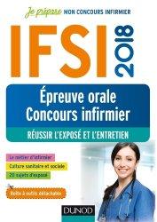 Nouvelle édition IFSI 2018 Réussir épreuve orale au concours infirmier