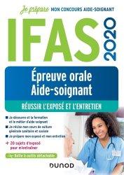 Dernières parutions dans Je prépare, IFAS 2020 - Epreuve orale concours aide-soignant