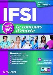 Souvent acheté avec L'épreuve écrite de culture générale IFSI  2012, le IFSI Le concours d'entrée 2012