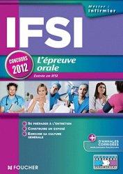 Souvent acheté avec L'épreuve écrite de culture générale IFSI  2012, le IFSI L'épreuve orale 2012