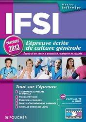 Souvent acheté avec Thèmes de Culture générale, le IFSI - L'épreuve écrite de culture générale concours 2013