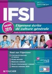 Souvent acheté avec Concours IFSI, le IFSI l'épreuve écrite de culture générale concours 2015