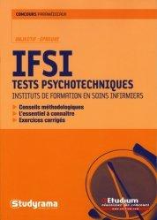 Souvent acheté avec Concours d'entrée en IFSI Thèmes et textes de culture générale, le IFSI Tests psychotechniques