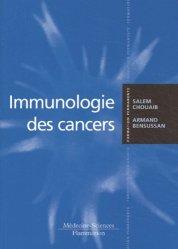 Dernières parutions dans Formation permanente, Immunologie des cancers