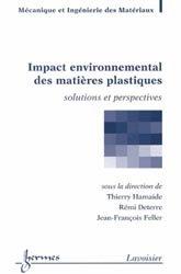 Dernières parutions sur Matériaux synthétiques et composites, Impact environnemental des matières plastiques
