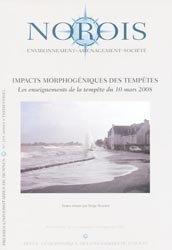Dernières parutions dans Norois, Impacts morphogéniques des tempêtes