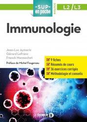 Dernières parutions dans Sup en poche, Immunologie