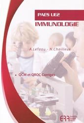Souvent acheté avec La génétique en  1001 QCM, le Immunologie