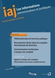 Dernières parutions sur Fonction publique, Information administratives et juridiques