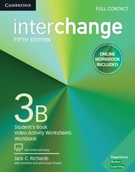 Dernières parutions sur Adult and Young Adult, Interchange Level 3 B - Full Contact with Online Self-Study and Online Workbook
