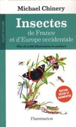 Souvent acheté avec Papillons de France, le Insectes de France et d'Europe occidentale