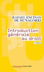 Dernières parutions sur Introduction historique au droit, Introduction générale au droit. 5e édition