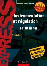 Dernières parutions sur BTS - DUT - IUT, Instrumentation et régulation en 30 fiches