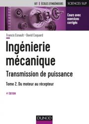 Dernières parutions sur Construction mécanique, Ingénierie mécanique - Transmission de puissance - T2