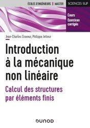Dernières parutions dans Sciences sup, Introduction à la mécanique non linéaire