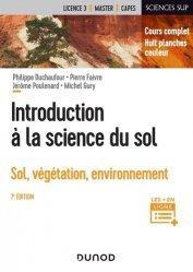 Dernières parutions dans Sciences Sup, Introduction à la science du sol