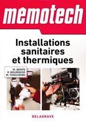 Dernières parutions dans Mémotech, Installations sanitaires et thermiques