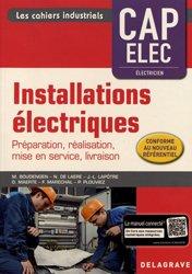 Dernières parutions sur Electricité, Installations électriques CAP Elec