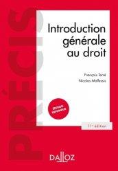 Dernières parutions sur Introduction au droit civil, Introduction générale au droit. 11e édition