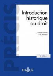Dernières parutions dans Précis Dalloz, Introduction historique au droit. 5e édition