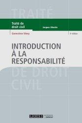 Dernières parutions dans Traité de droit civil, Introduction à la responsabilité. 4e édition