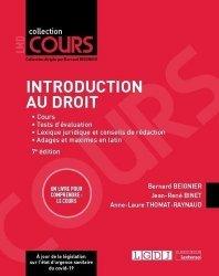 Dernières parutions sur Introduction historique au droit, Introduction au droit, 7eme ed