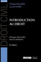 Dernières parutions sur Introduction historique au droit, Introduction au droit, 8eme ed