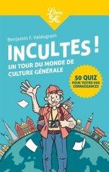 Dernières parutions sur Culture générale, Incultes ! Cahier de vacances pour adultes spécial culture gé