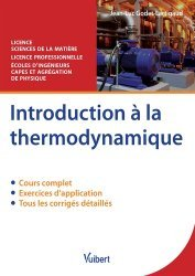 Dernières parutions sur LMD, Introduction à la thermodynamique