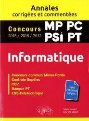 Dernières parutions dans Annales, Informatique MP, PC, PSI, PT