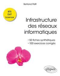 Dernières parutions sur Réseaux, Infrastructure des réseaux informatiques - 50 fiches synthétiques et 100 exercices corrigés BTS-DUT-Licence