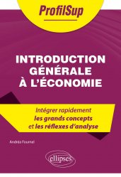 Dernières parutions dans ProfilSup, Introduction générale à l'économie