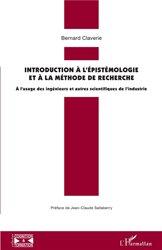 Dernières parutions sur Sciences et Technique, Introduction à l'épistémologie et à la méthode de recherche