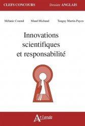 Dernières parutions sur CAPES, Innovations scientifiques et responsabilité