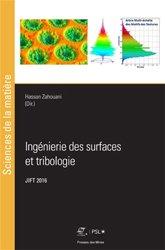 Dernières parutions sur Résistance des matériaux, Ingénierie des surfaces et tribologie