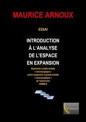 Dernières parutions sur Mathématiques appliquées, Introduction à l'analyse de l'espace en expansion