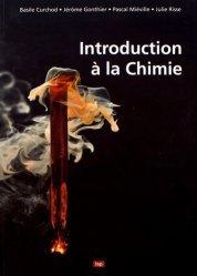 Dernières parutions sur LMD, Introduction à la Chimie