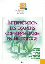 Souvent acheté avec Dictionnaire de neurologie français-anglais, le Interprétation des examens complémentaires en neurologie