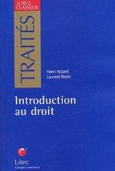 Dernières parutions dans Traités, Introduction au droit