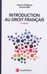 Nouvelle édition Introduction au droit français