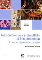 Souvent acheté avec Biochimie, le Introduction au calcul des probabilités et à la statistique