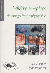 Dernières parutions dans Sciences Humaines en Médecine, Individus et espèces de l'ontogenèse à la phylogenèse