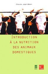 Dernières parutions sur Nutrition, Introduction à la nutrition des animaux domestiques